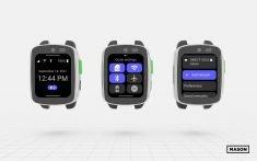 Mason unveils world's 1st customizable smartwatch for enterprise-class connected smart devices