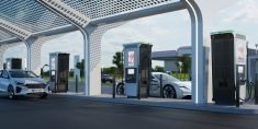 The ABB 'Terra 360' EV Charger Offers 62-Miles in Minutes