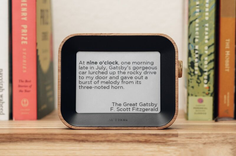 The 'Author Clock' Offers a New Way to Tell the Time