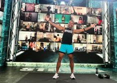 'BODi' is an Immersive Live Group Workout Service