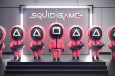 The Squid Game Home Security Camera Guards