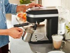 The KitchenAid Semi-Automatic Espresso Machine